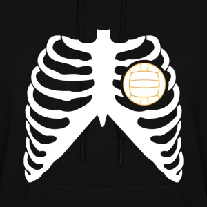MY HEART BEATS FOR VOLLEYBALL! Hoodies - Women's Hoodie