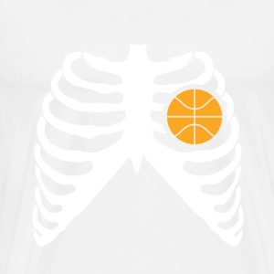 MY HEART BEATS FOR BASKETBALL T-Shirts - Men's Premium T-Shirt