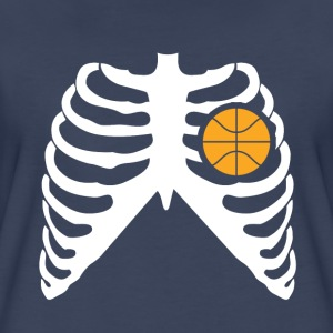 MY HEART BEATS FOR BASKETBALL T-Shirts - Women's Premium T-Shirt