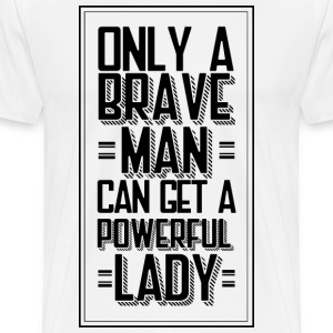 Brave Man - Men's Premium T-Shirt