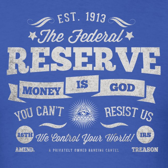 The Federal Reserve Official Mens T-Shirt