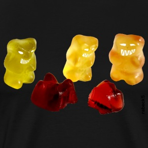 Monster gummy bears T-Shirts - Men's Premium T-Shirt