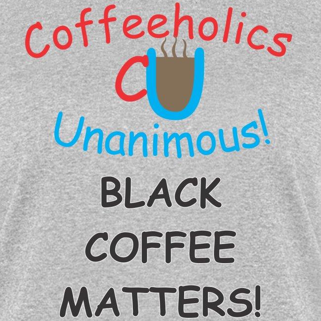 CU Black Coffee f