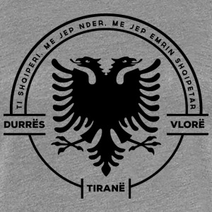 Albanian Cities Badge - Women's Premium T-Shirt