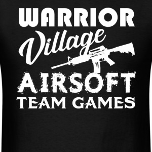 Warrior Village Airsoft - Men's T-Shirt