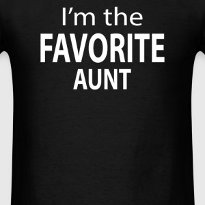 I'm the Favorite Aunt - Men's T-Shirt