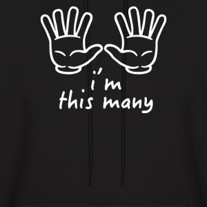 I'm This Many (Ten) - Men's Hoodie