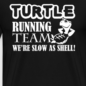 Turtle Running Team Shirt - Men's Premium T-Shirt
