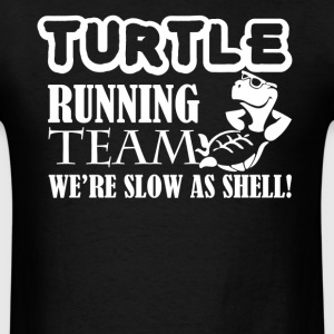 Turtle Running Team Shirt - Men's T-Shirt