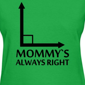 Mommy's Always Right - Women's T-Shirt