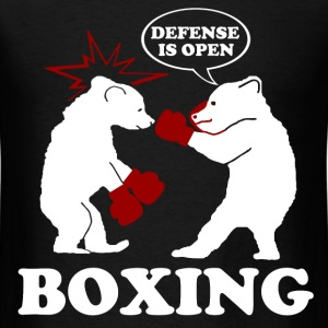 DEFENSE IS OPEN 2.png T-Shirts - Men's T-Shirt