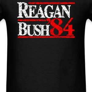 Reagan Bush 84 - Men's T-Shirt