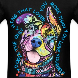 2016 Hot trend Pit Bulls Graphic T Shirts - Men's T-Shirt