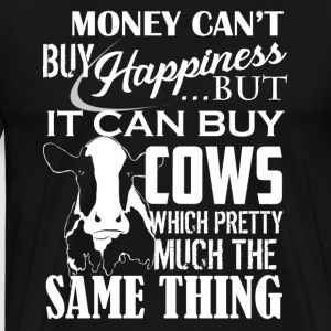 Cows And Happiness Shirt - Men's Premium T-Shirt