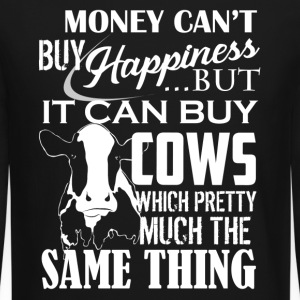 Cows And Happiness Shirt - Crewneck Sweatshirt