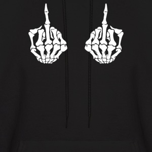 skeleton hands - Men's Hoodie
