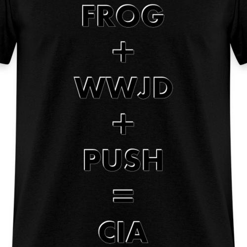 Frog WWJD Push CIA Front
