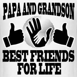 PAPA AND GRANDSON 1.png T-Shirts - Men's T-Shirt
