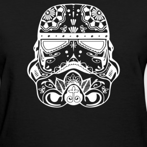 Stormtrooper Sugar Skull - Women's T-Shirt