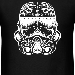 Stormtrooper Sugar Skull - Men's T-Shirt