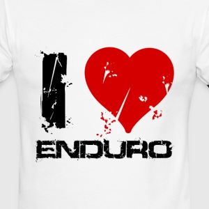 I love enduro - Men's Ringer T-Shirt