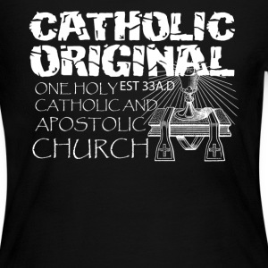 Catholic Original Shirts - Women's Long Sleeve Jersey T-Shirt