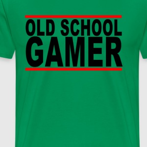 old_school_gamer_ - Men's Premium T-Shirt