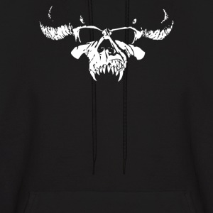 Skull Bone Heavy Metal Rock Band Legend - Men's Hoodie