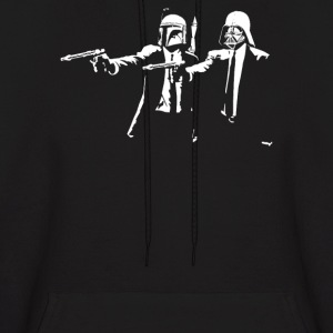 Darth Vader Boba Fett Pulp Fiction - Men's Hoodie
