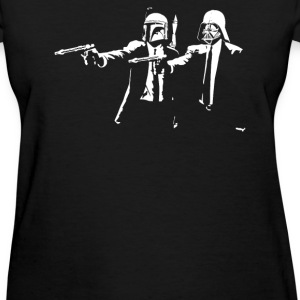 Darth Vader Boba Fett Pulp Fiction - Women's T-Shirt