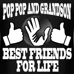 POP POP AND GRANDSON 1.png T-Shirts - Men's T-Shirt