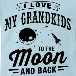 I Love My Grandkids T-Shirts - Men's Premium T-Shirt