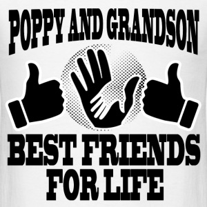 POPPY AND GRANDSON 1.png T-Shirts - Men's T-Shirt