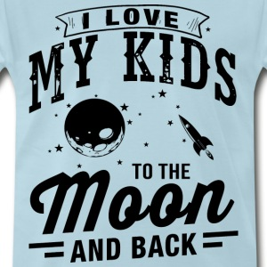 I Love My Kids T-Shirts - Men's Premium T-Shirt