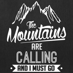 Skiing: the mountains are calling Bags & backpacks - Tote Bag