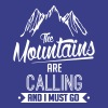 Skiing: the mountains are calling T-Shirts - Men's Premium T-Shirt