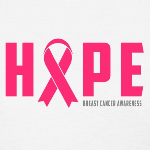 BreastCancerAwareness Hope Breast Cancer Awareness T-Shirts - Women's T-Shirt