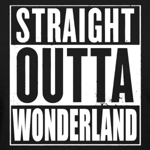 Straight Outta Wonderland Alice Design T-Shirts - Women's T-Shirt