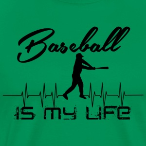 Baseball Is My Life Shirt - Men's Premium T-Shirt