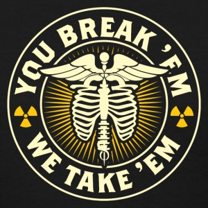 X-Ray Break 'em Take 'em T-Shirts - Women's T-Shirt