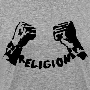 RELIGION UNCHAINED by Tai's Tees - Men's Premium T-Shirt
