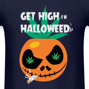 Get high in Halloweed t-shirt - Men's T-Shirt