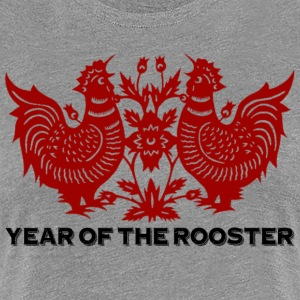 Year of The Rooster - Women's Premium T-Shirt