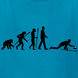 evolution_curling_player_10_2016_c_2c Kids' Shirts - Kids' T-Shirt