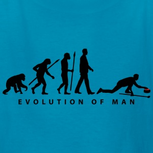 evolution_curling_player_10_2016_b_2c Kids' Shirts - Kids' T-Shirt