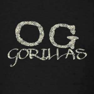 OG Gorillas Logo Designed by OG Gorillas Clothing - Men's T-Shirt