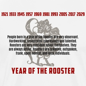 Years of The Rooster And Traits - Men's Premium T-Shirt