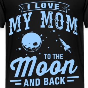 I Love My Mom Kids' Shirts - Kids' Premium T-Shirt