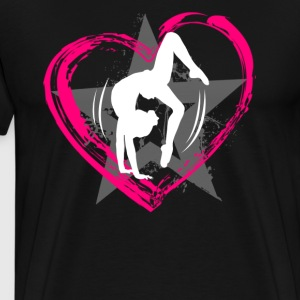 Love Gymnastics T shirt - Men's Premium T-Shirt