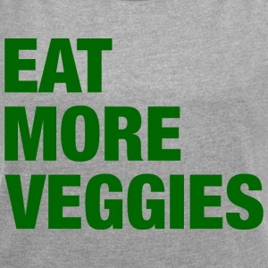 Eat More Veggies T-Shirts - Women´s Roll Cuff T-Shirt